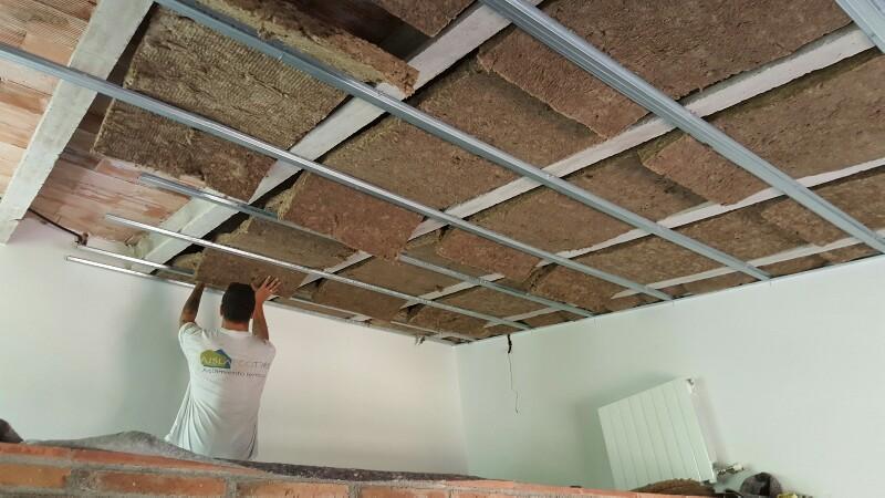A llar casa pis i habitatge material d 39 a llant t rmic - Lana de roca con aluminio ...